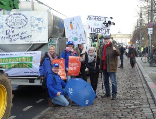 Demo für enkeltaugliche Agrarpolitik