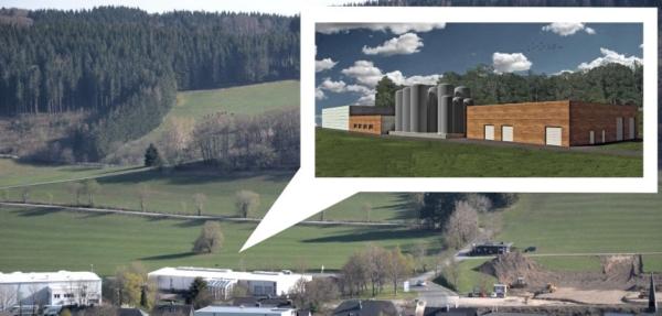 Im geplanten Neubau will die Upländer Bauernmolkerei wirtschaftliche und ökologische Vorteile miteinander verbinden.