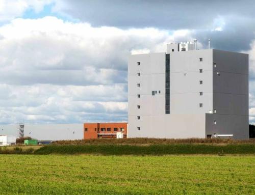 Moderne Bio-Mühle mit Signalwirkung